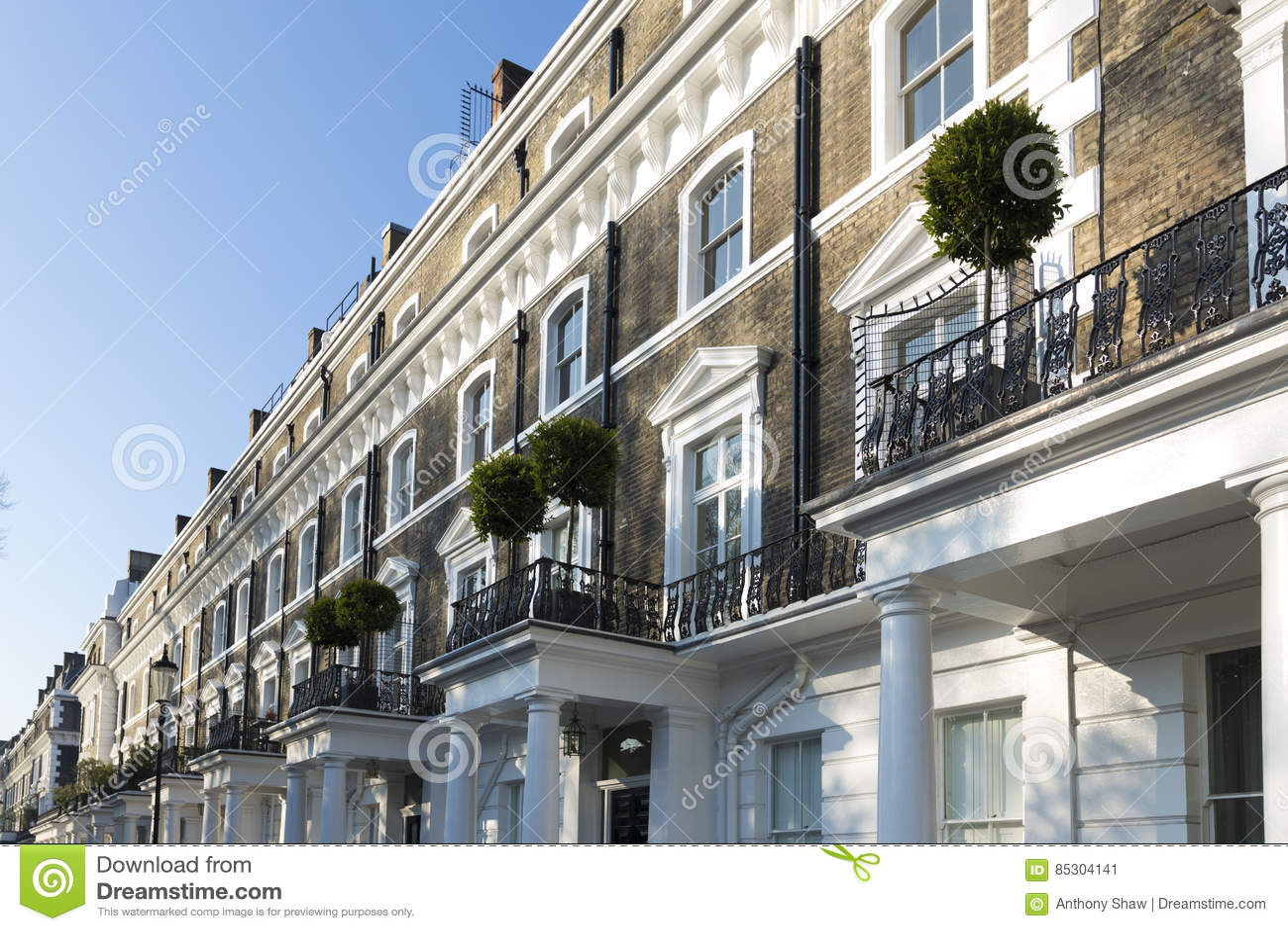 London egenskap i södra kensington