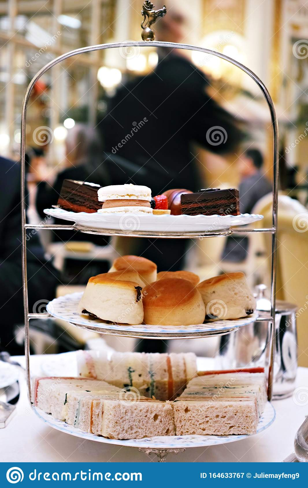Afternoon Tea Time At The Ritz Editorial Photography - Image of morning, christmas: 164633767