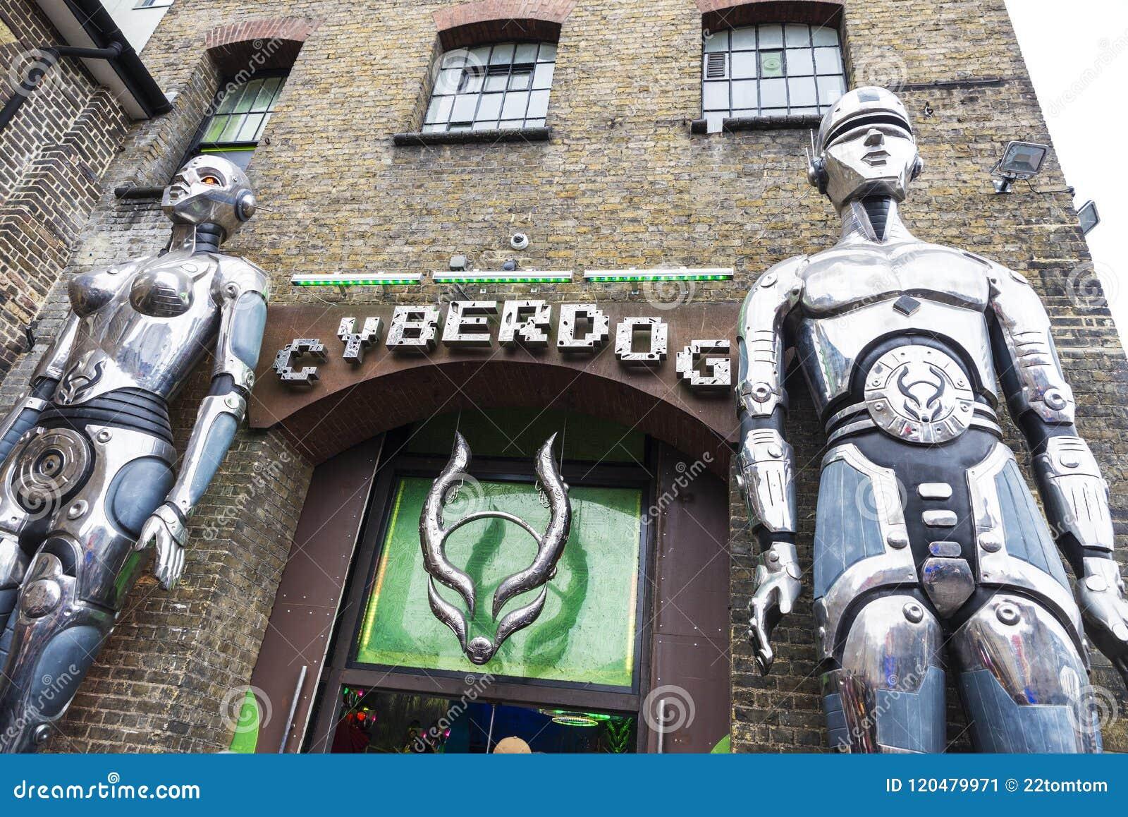 c23fd0fdc7 Shop Called Cyberdog In Camden Market In London