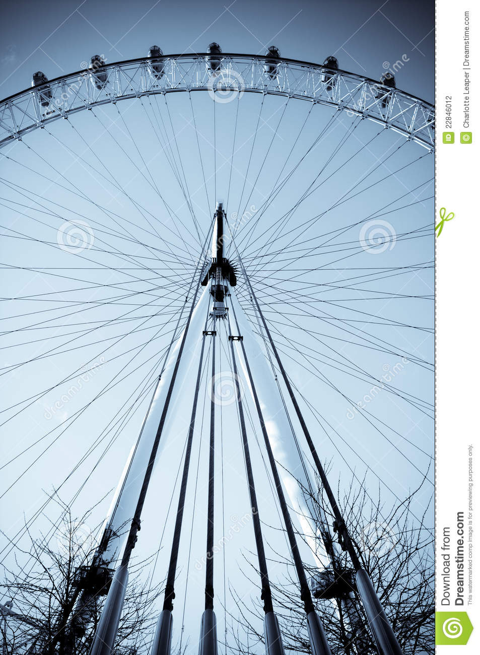 London eye architectural structure editorial photography for Structure photography
