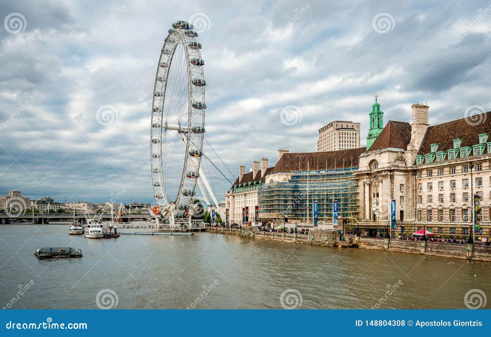 London Eye e o Southbank
