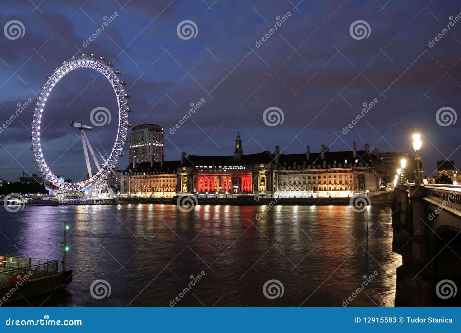London Eye Nightview