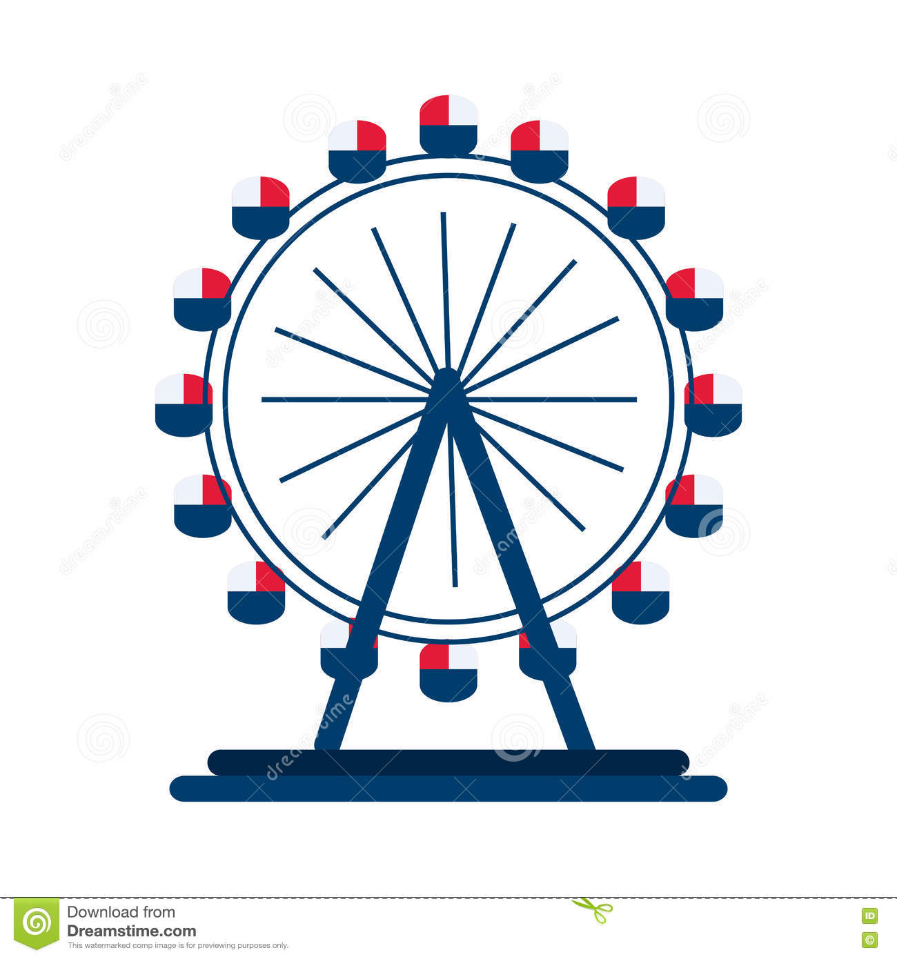 London eye wheel