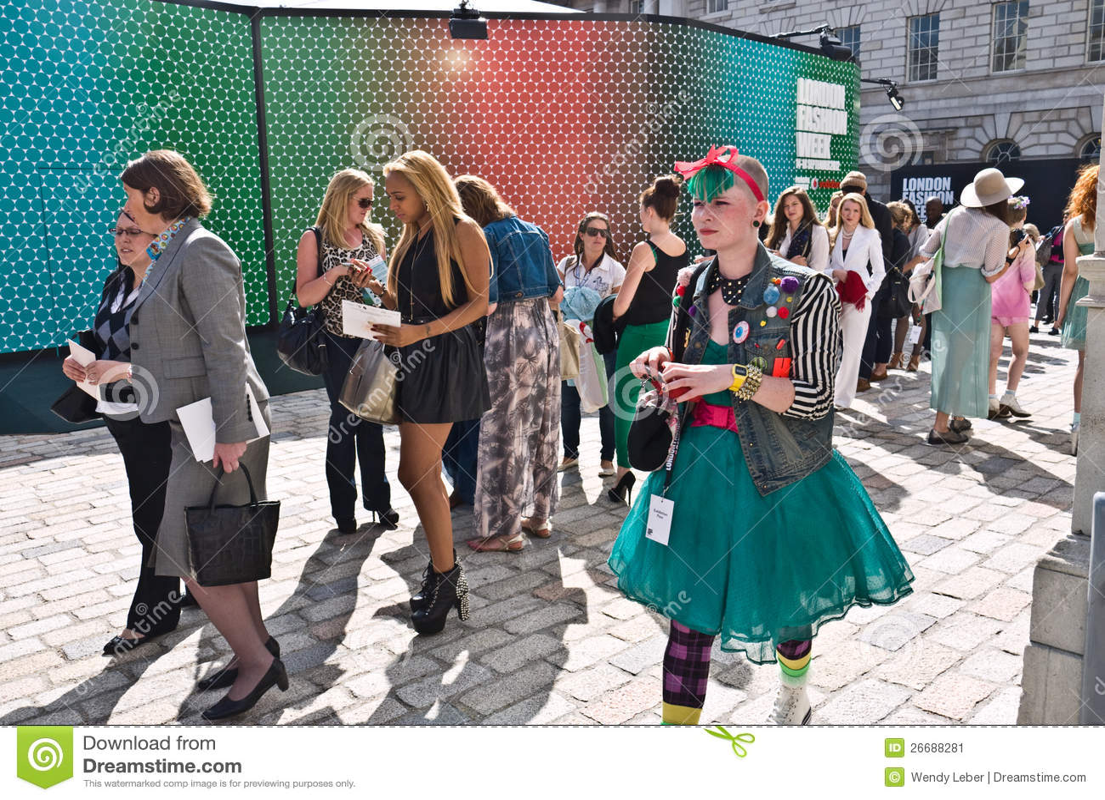 London Fashion Week At Somerset House Editorial Photo Image 26688281