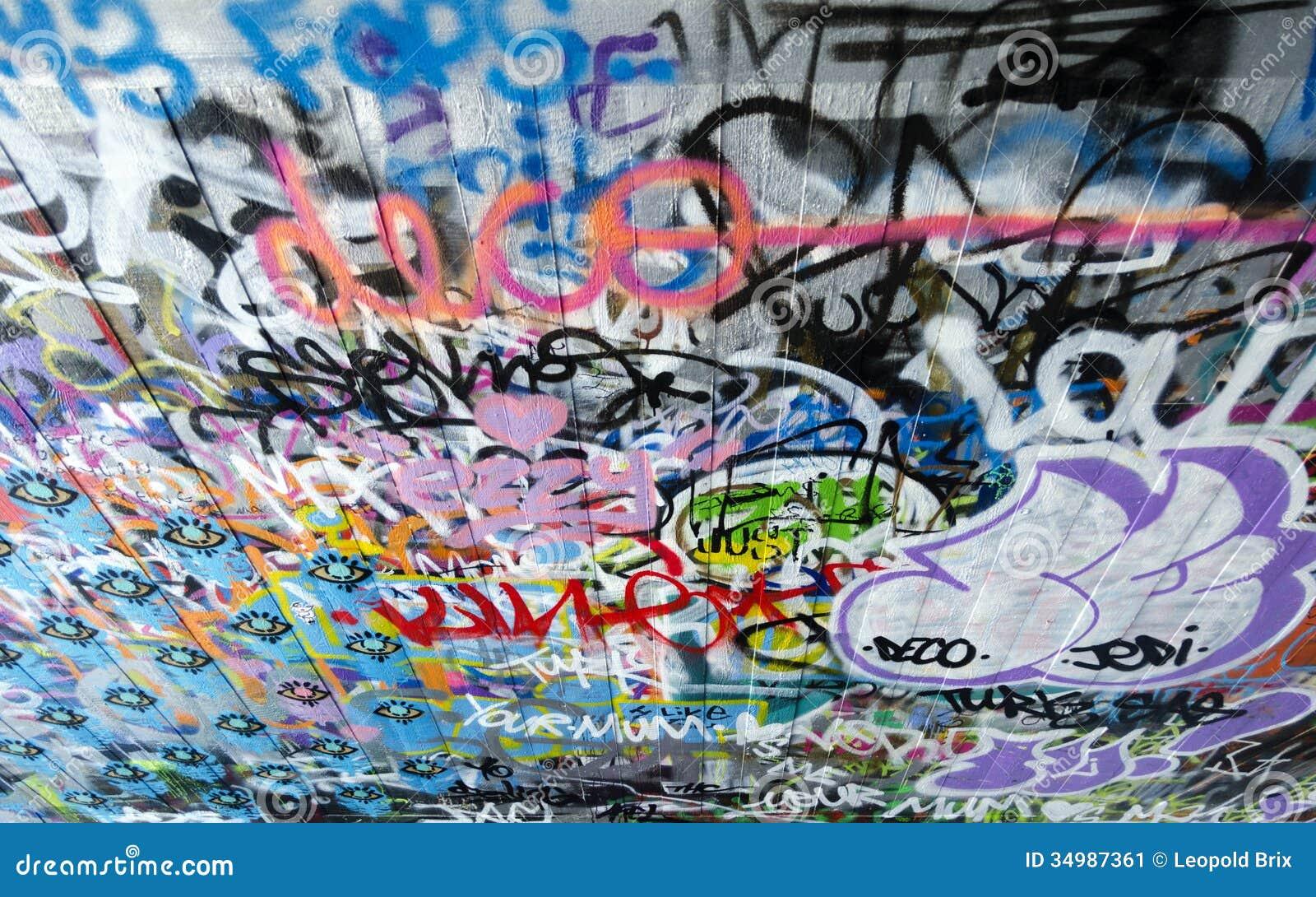 London graffiti on skate park 2 stock image image of south london graffiti on skate park 2 altavistaventures Choice Image