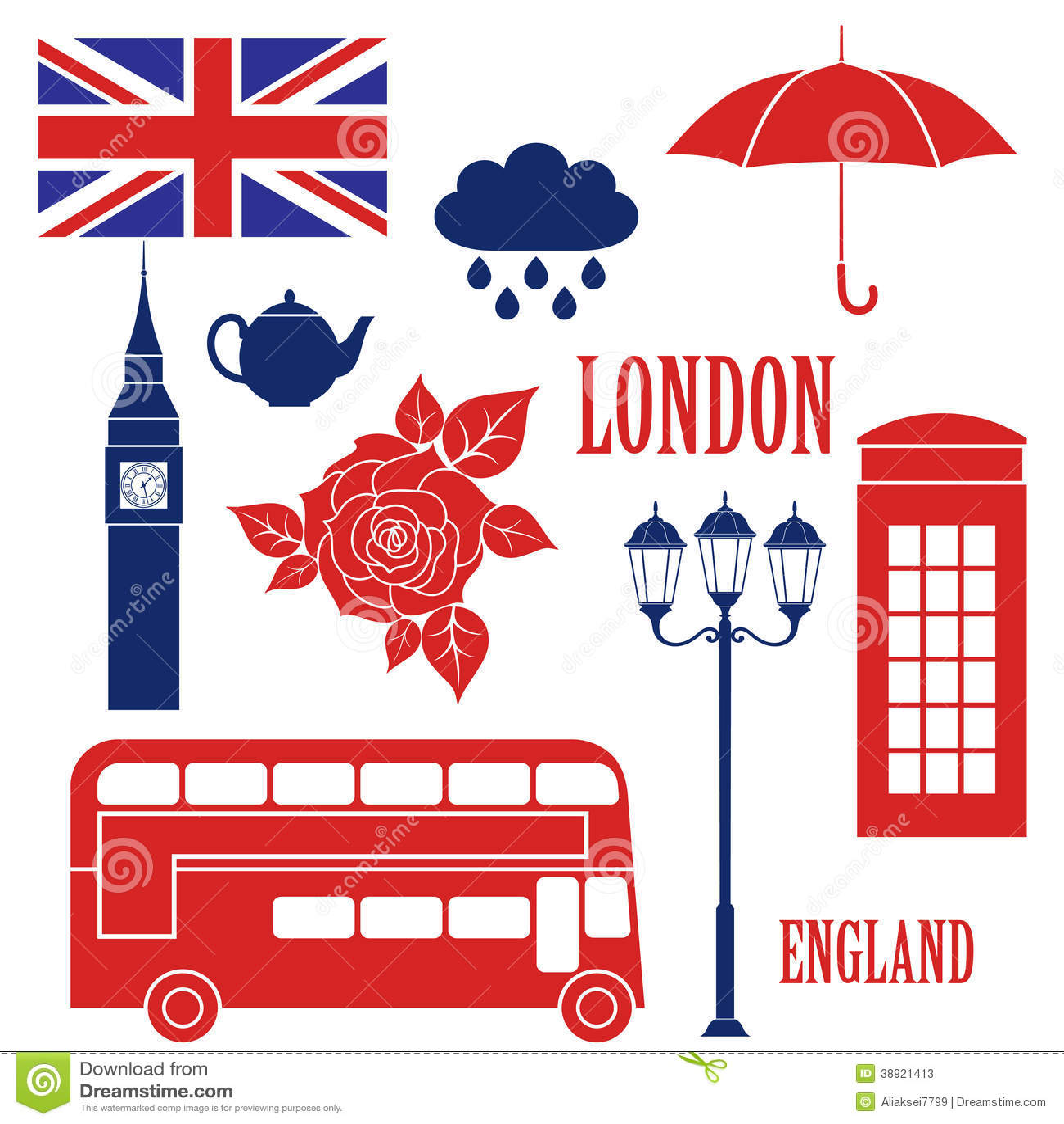 London Stock Vector Image 38921413