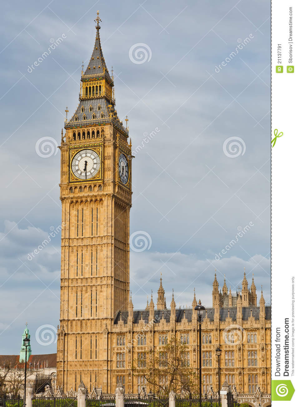 London Landmarks Stock Image Image 21137791