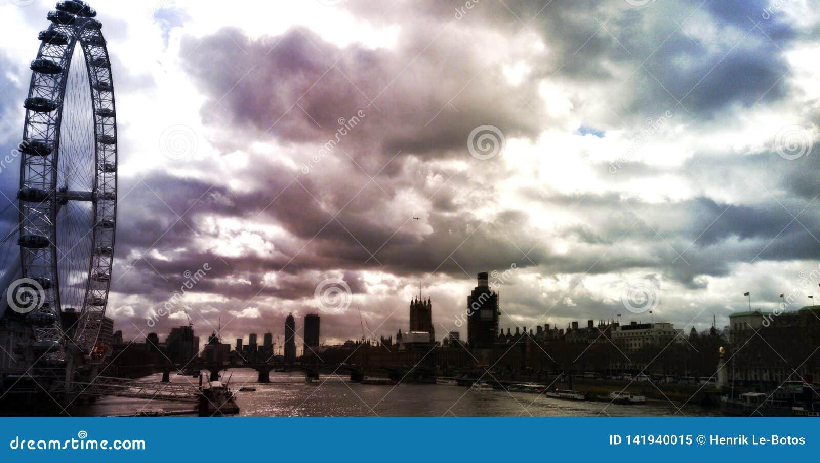 London nära Waterloo