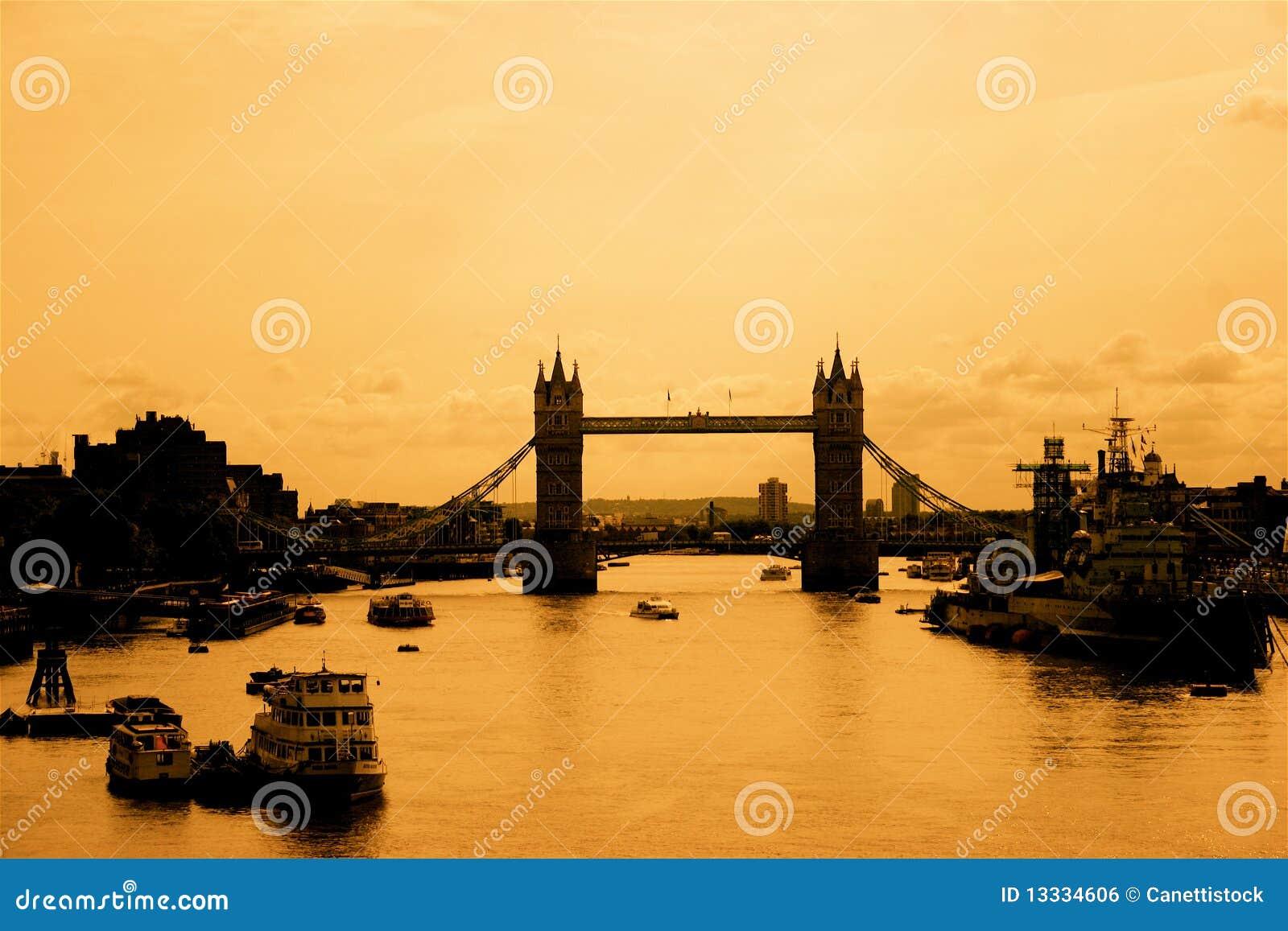 London nostalgicznego widok