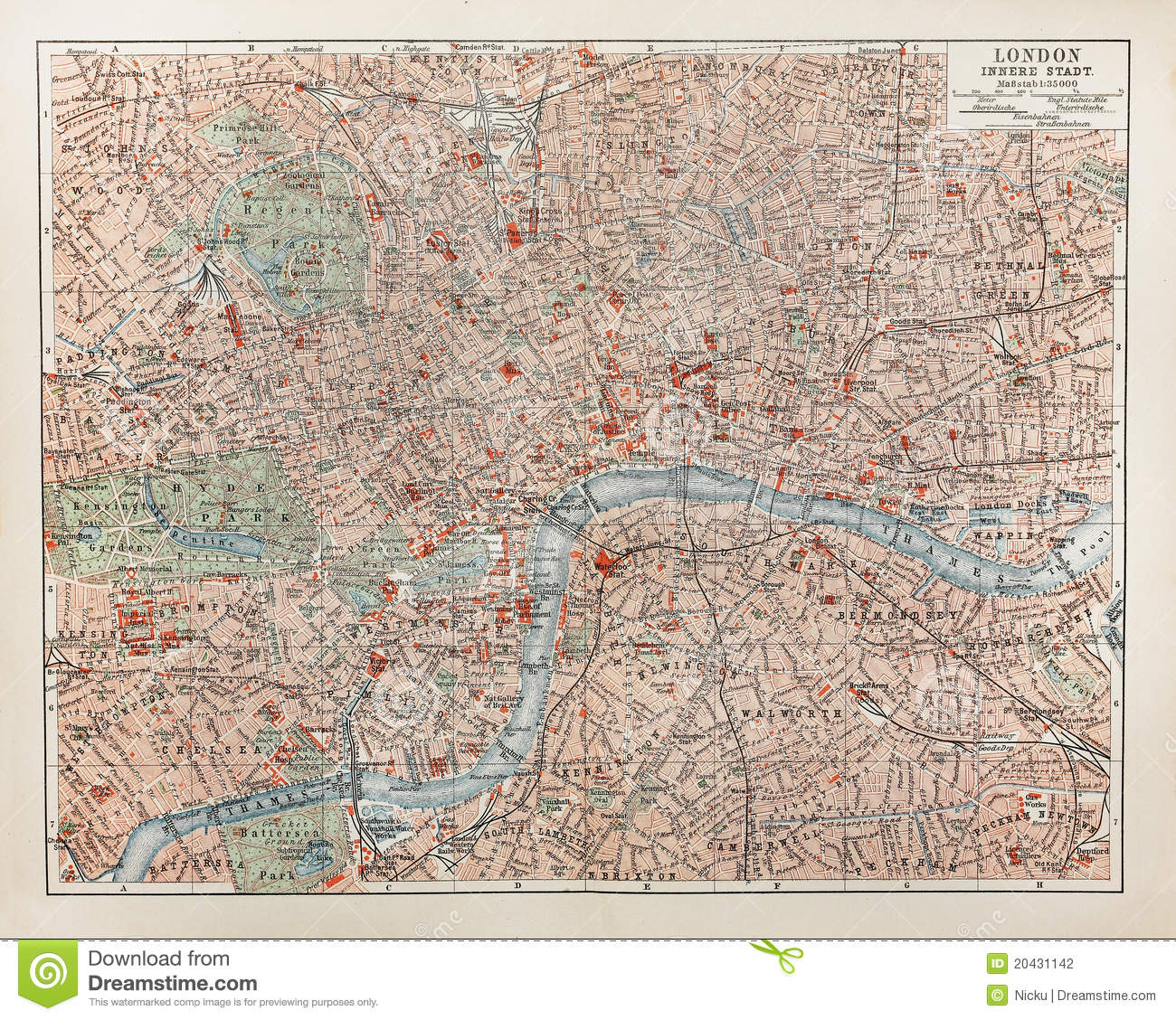 Old paris street map royalty free stock photo image 15885665 - London Old Map Stock Photography