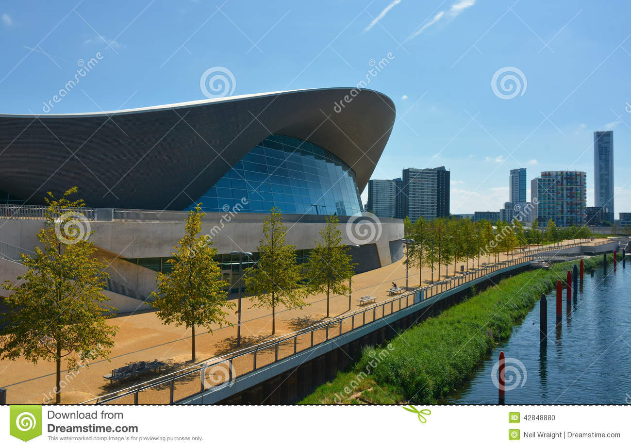 Swimming pool editorial image image 42848880 - Queen elizabeth olympic park swimming pool ...