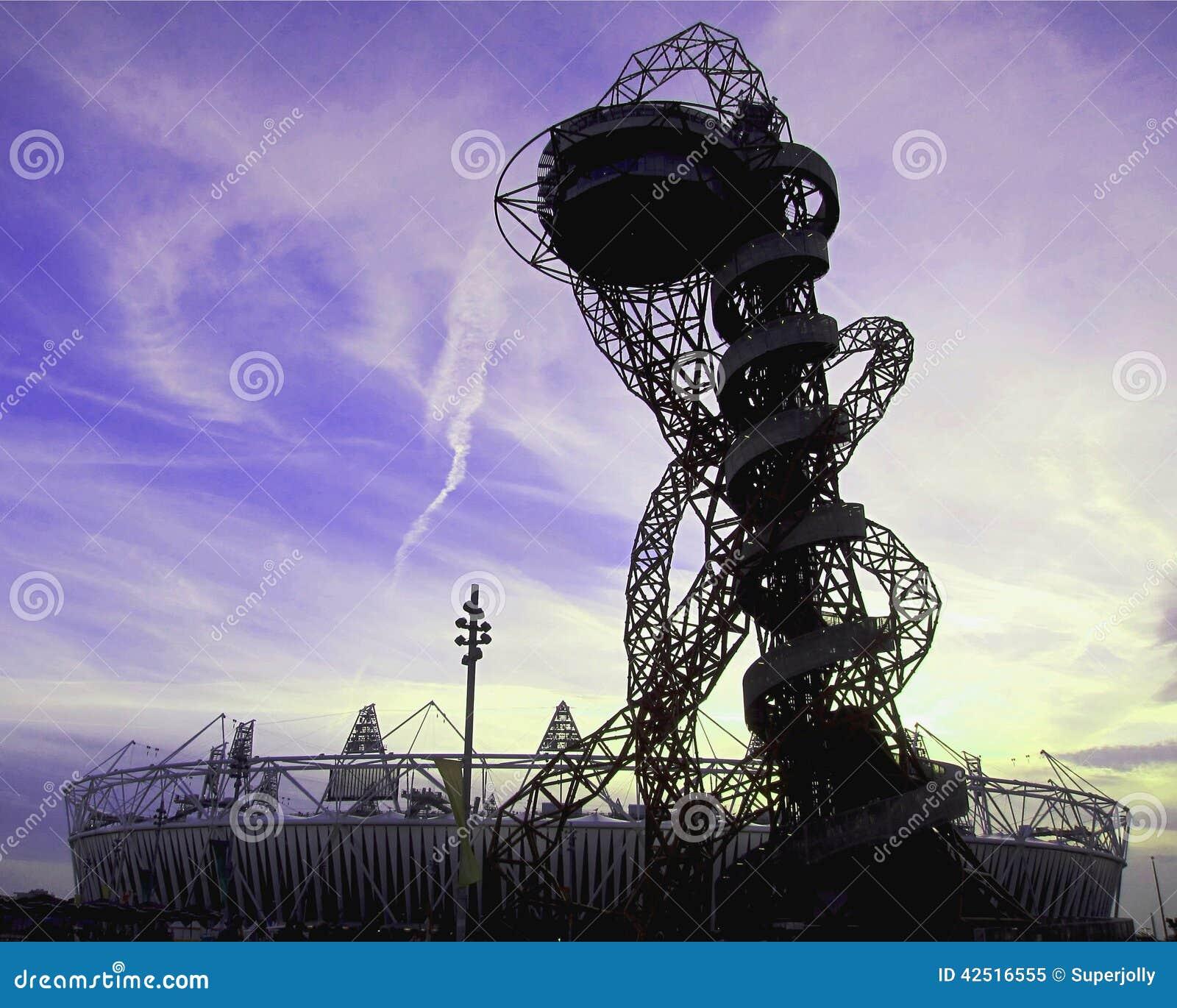 London olympics 2012 arcelormittal orbit editorial image image london olympics 2012 arcelormittal orbit editorial stock photo buycottarizona