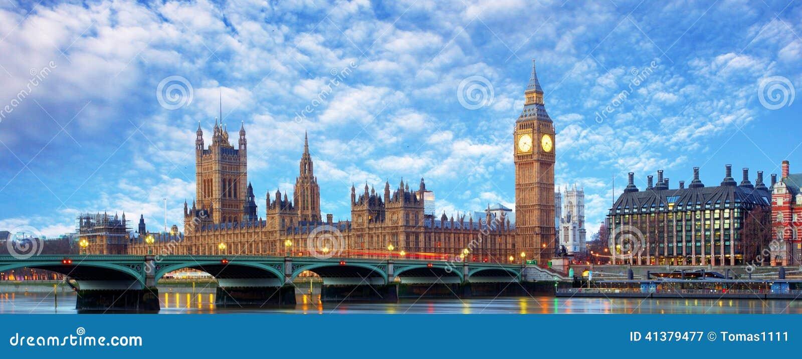 London panorama - Big ben, UK
