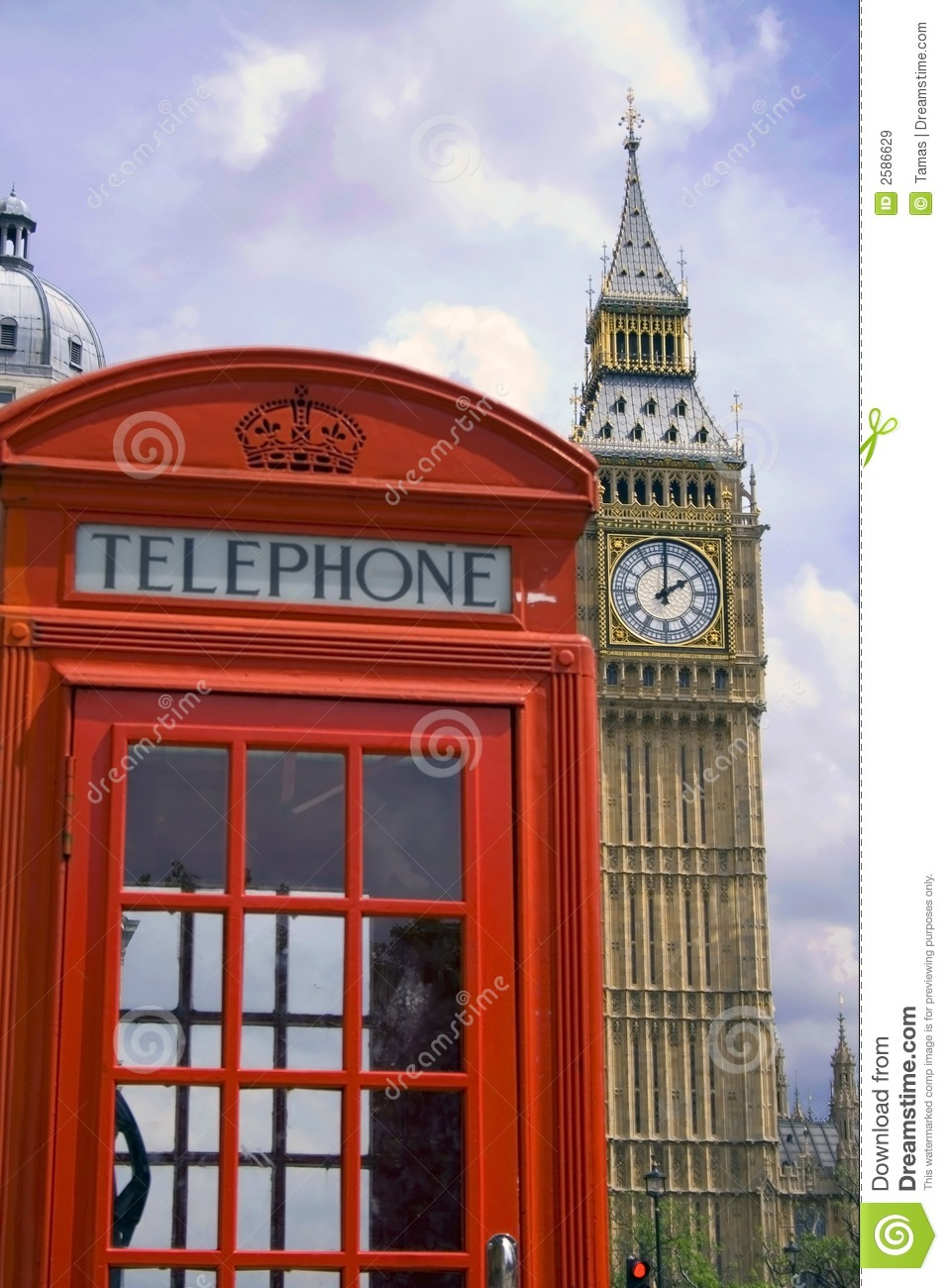 London Phone Booth/Big Ben Royalty Free Stock Images - Image: 2586629 ...