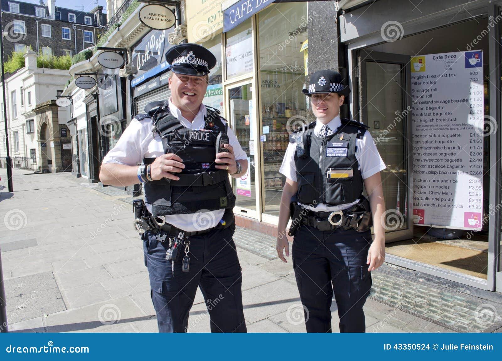 London Police Editorial Stock Image - Image: 43350524