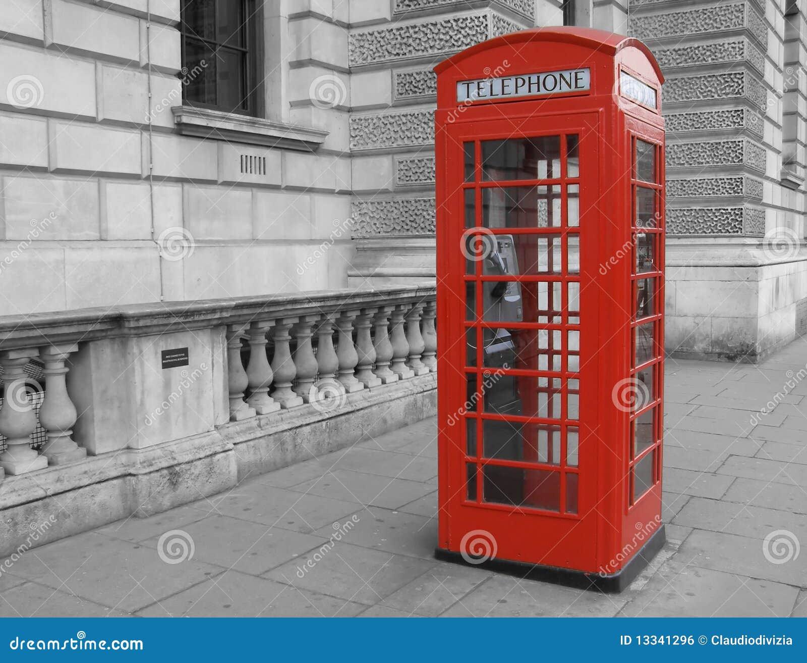 London pudełkowaty telefon