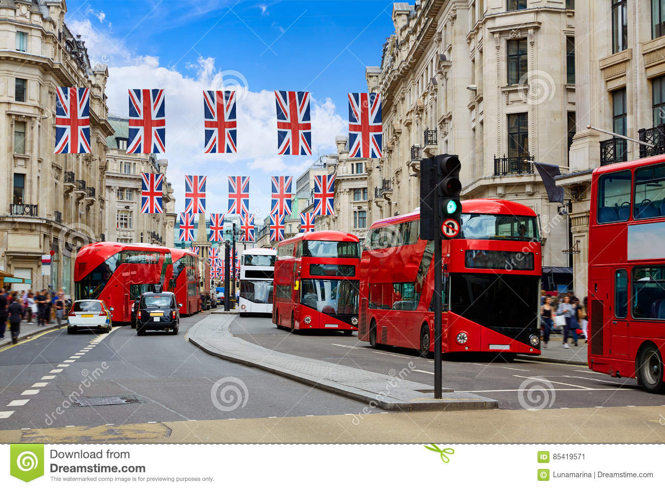 Download London Regent Street W1 Westminster In UK Stock Image - Image of place, sightseeing: 85419571