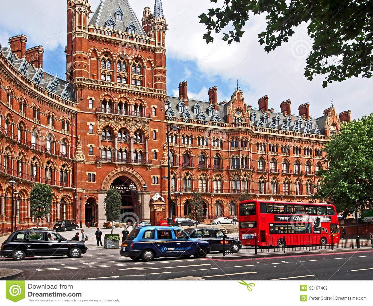 london st pancras railway station hotel editorial stock image image of building hotel 33167469. Black Bedroom Furniture Sets. Home Design Ideas