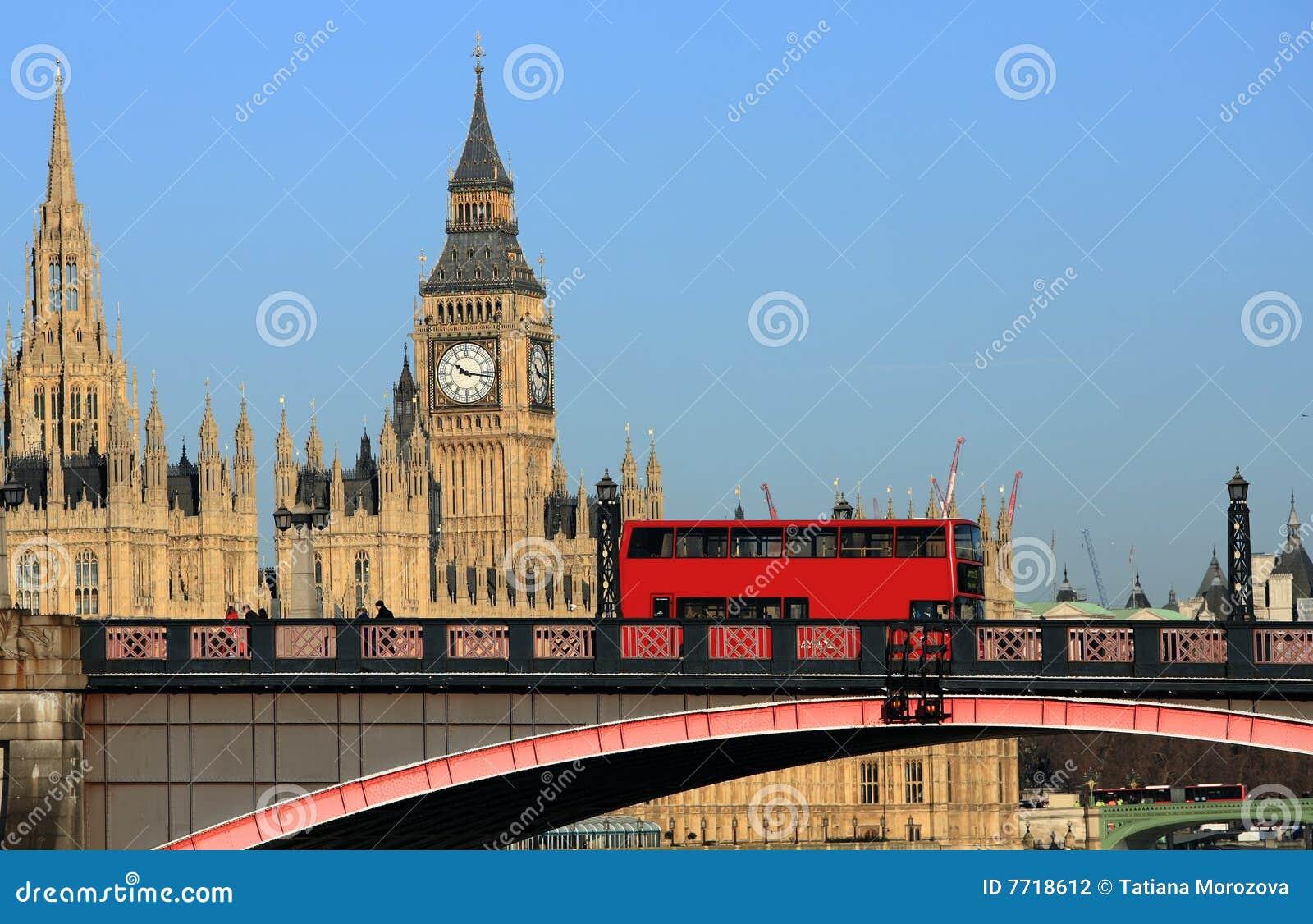 London Stadtbild Stockfoto Bild Von Groß Aufsatz Farbe 7718612