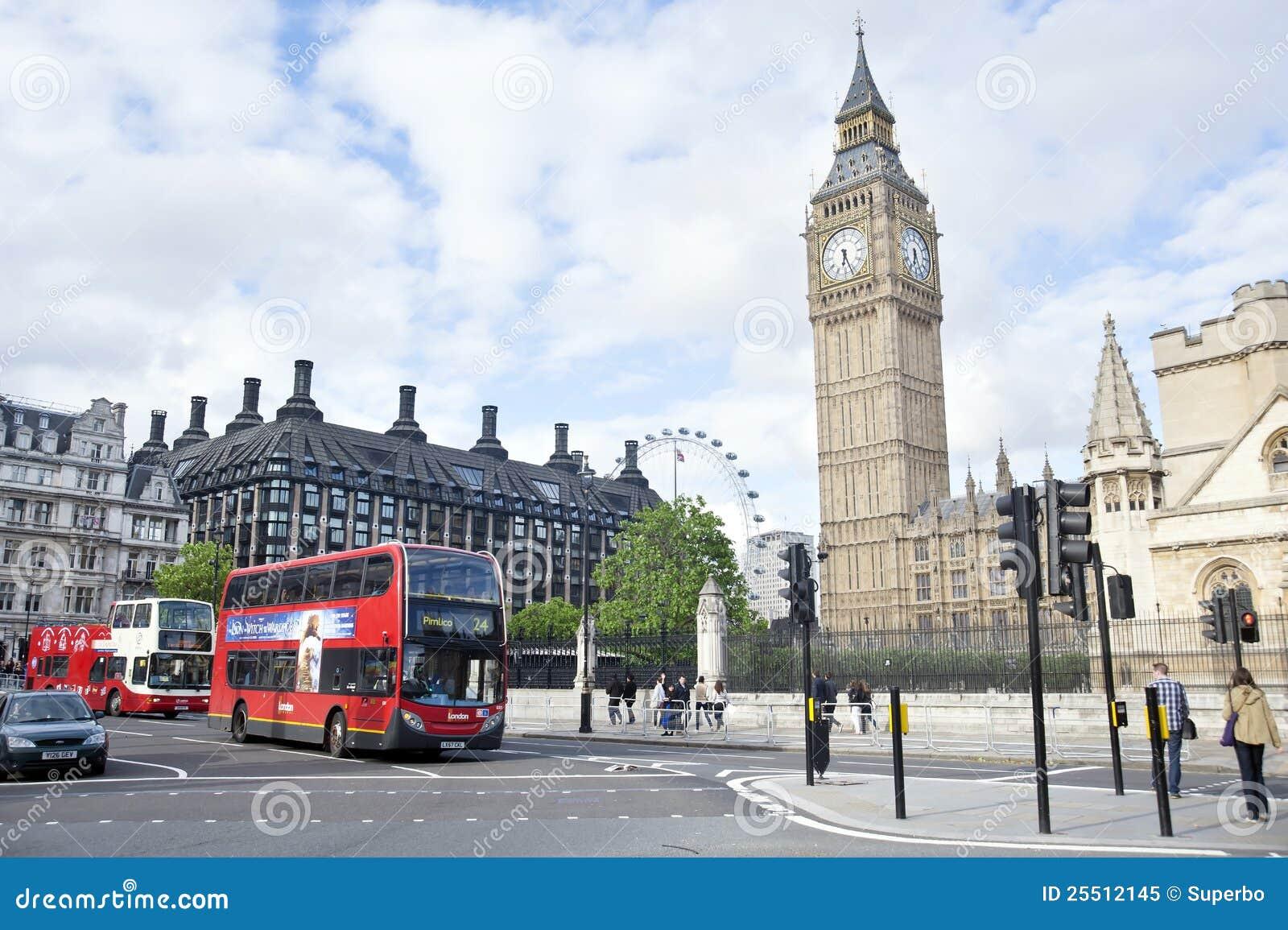London Street Scene Editorial Image Of Tourism