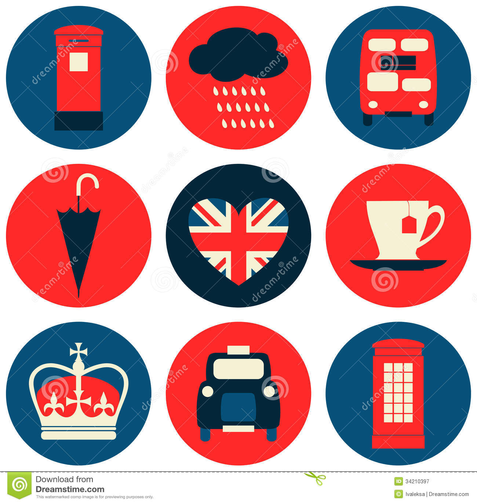 London symbolssamling