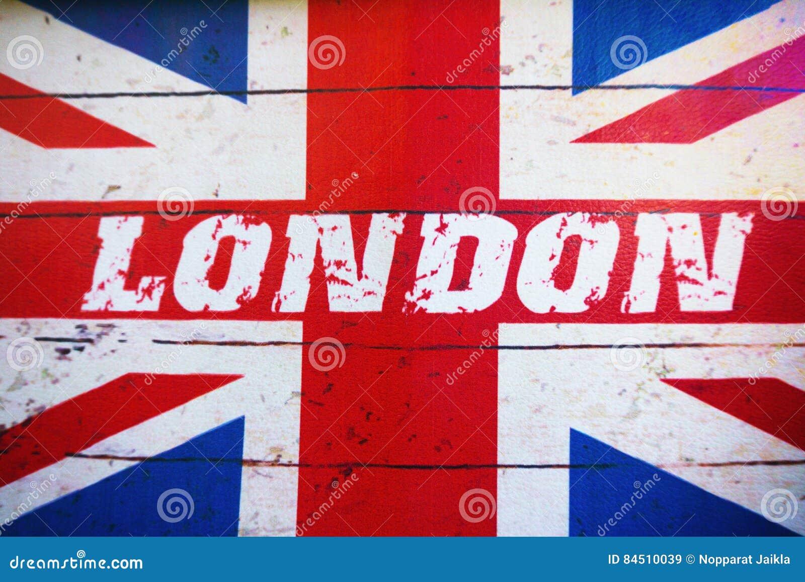 Old Fashioned English Flag
