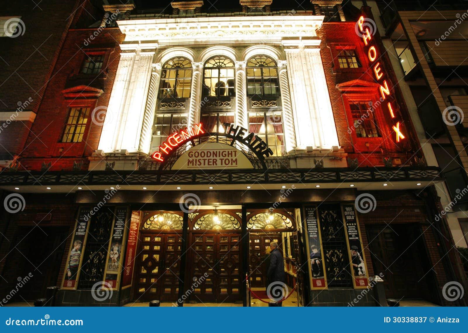London Theatre, Phoenix Theatre Editorial Photography
