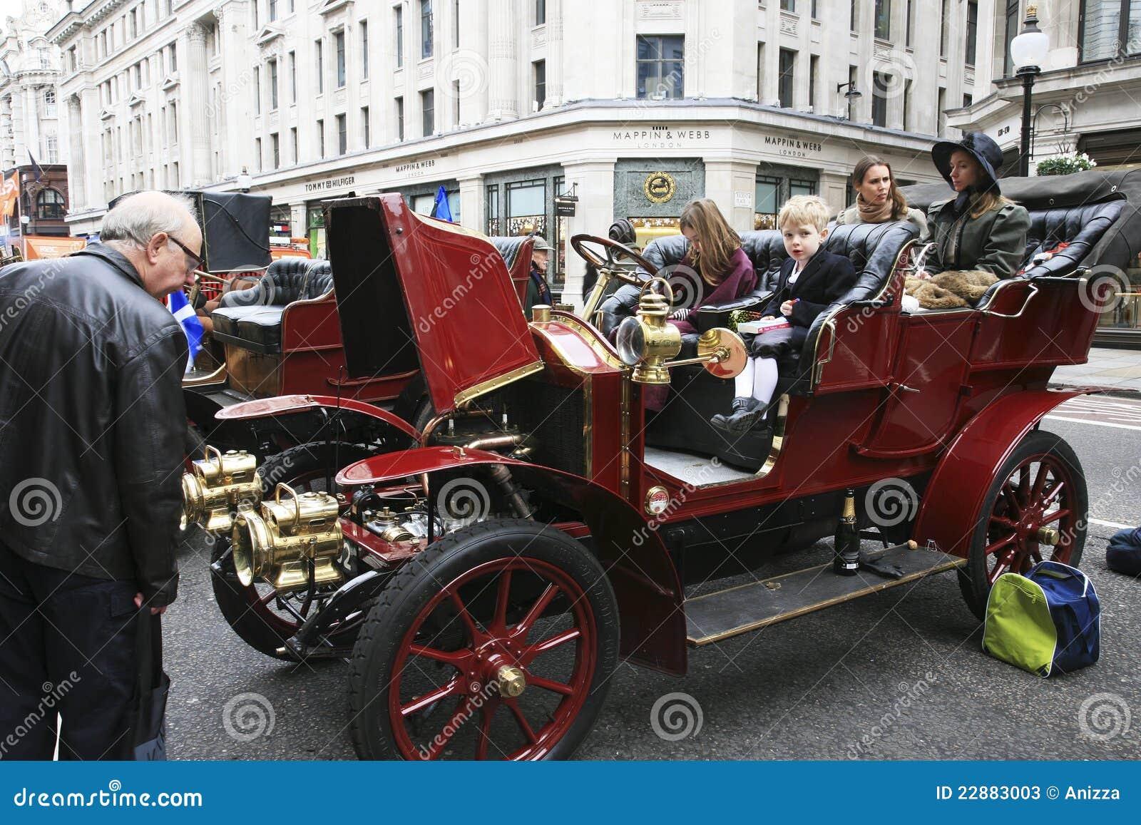 London To Brighton Veteran Car Run Editorial Stock Photo - Image of ...