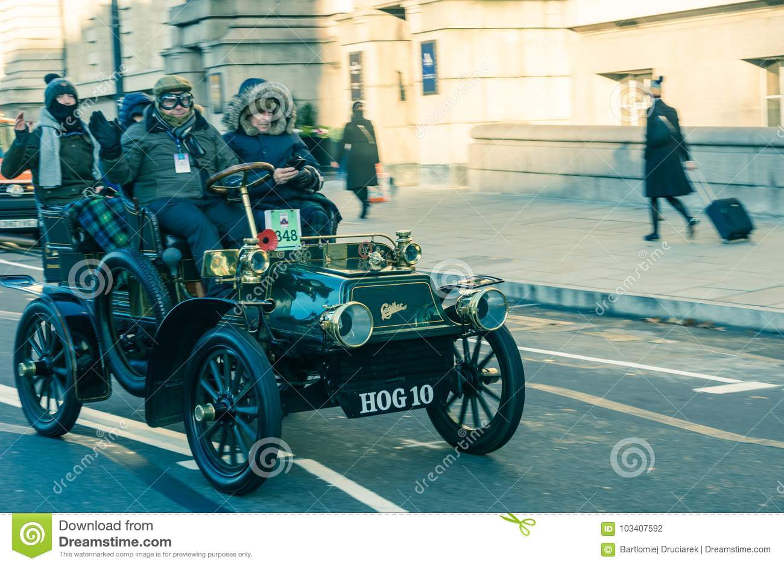 05/11/2017 London, UK, London To Brighton Veteran Cars Run Editorial ...