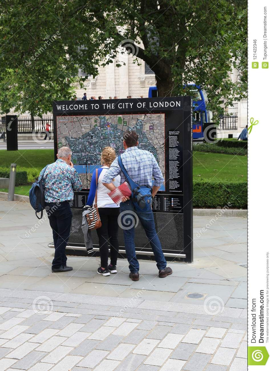 Map Of City Of London Uk.London Tourist Map Editorial Photo Image Of Building 121422346