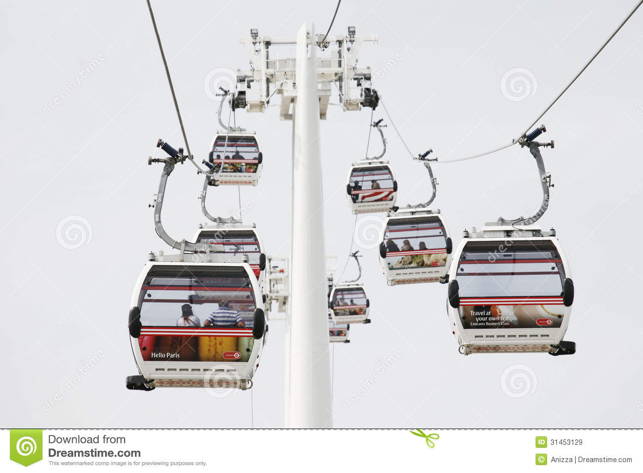 London Transport Emirate Air Line, London Thames Cable Car