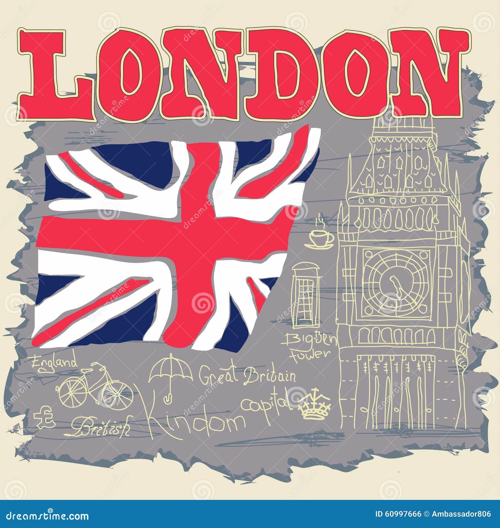 Shirt design london - London Typography Graphics T Shirt Design