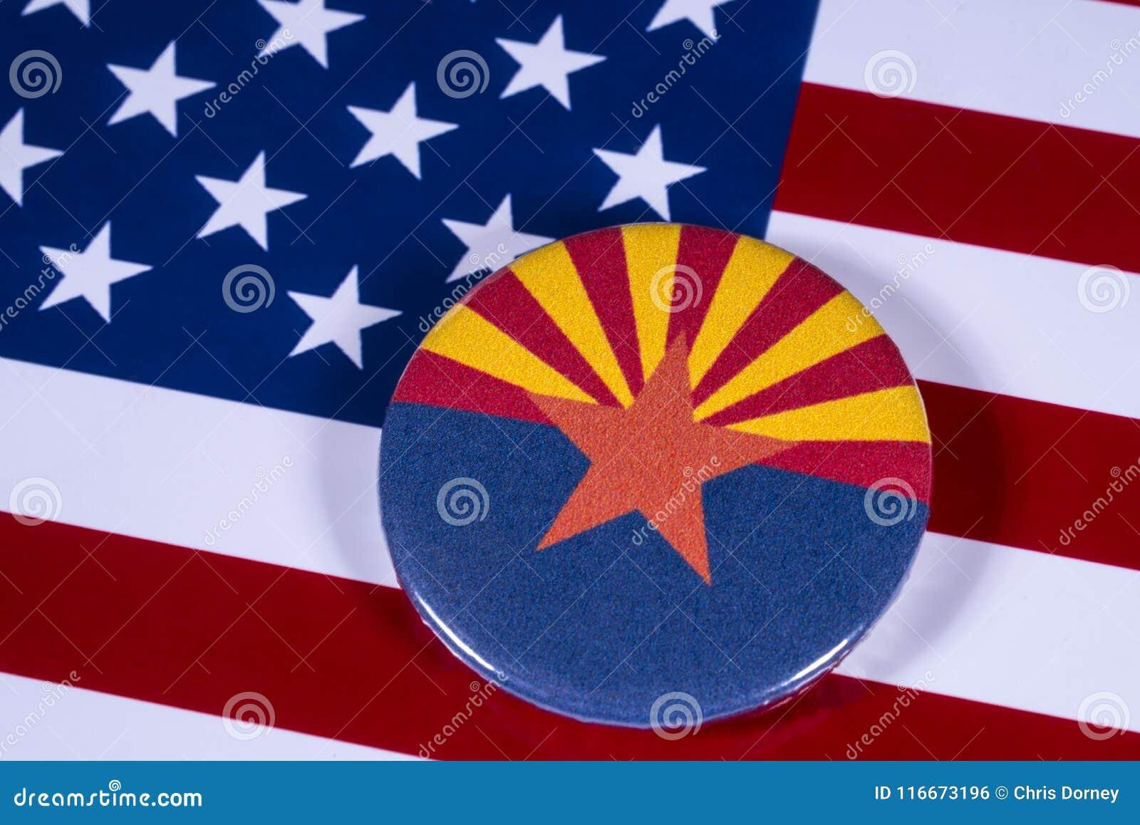 State Of Arizona In The Usa Editorial Photo Image Of Globe Global