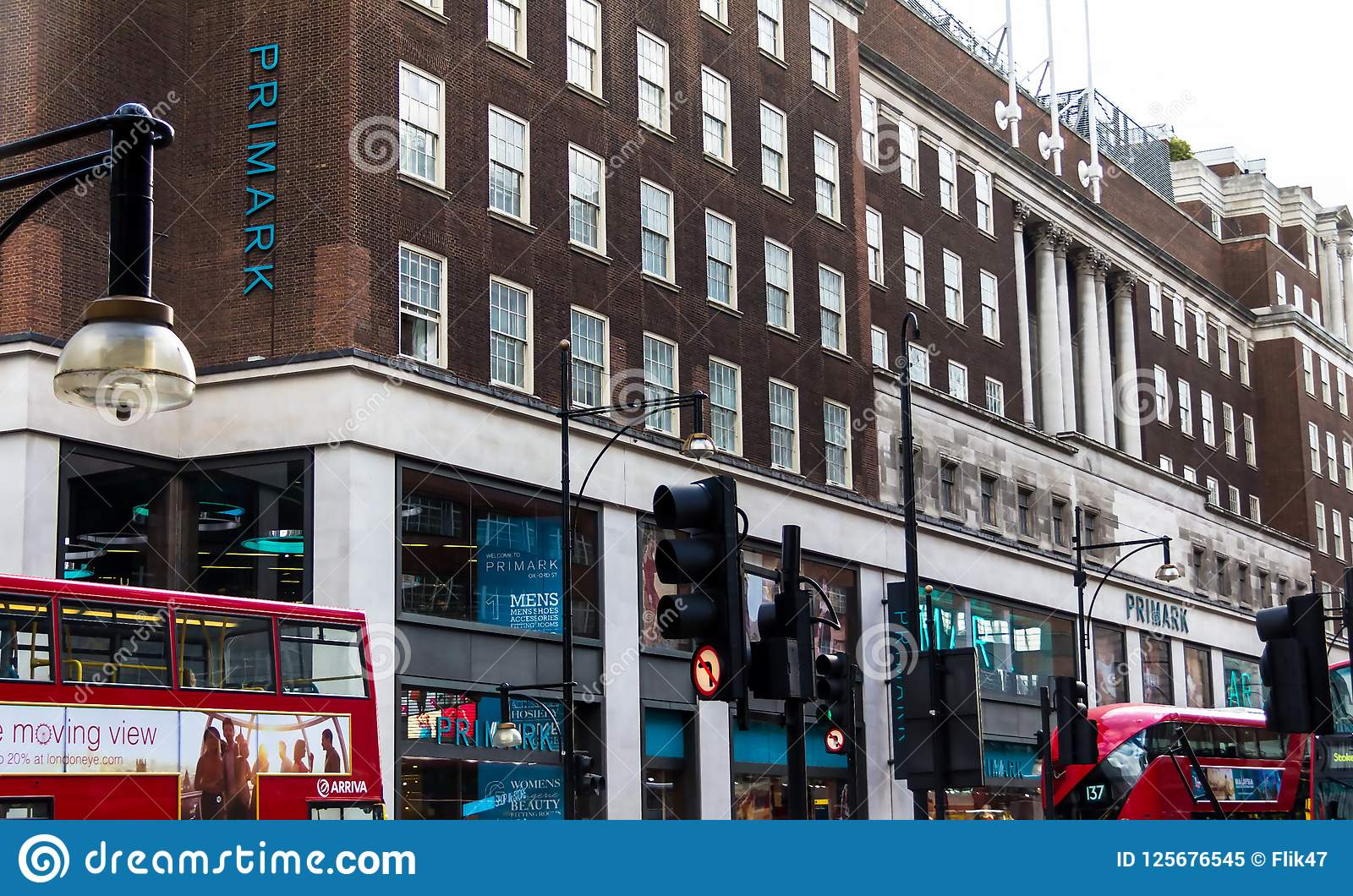 Primark Clothing Store On Oxford Street In London