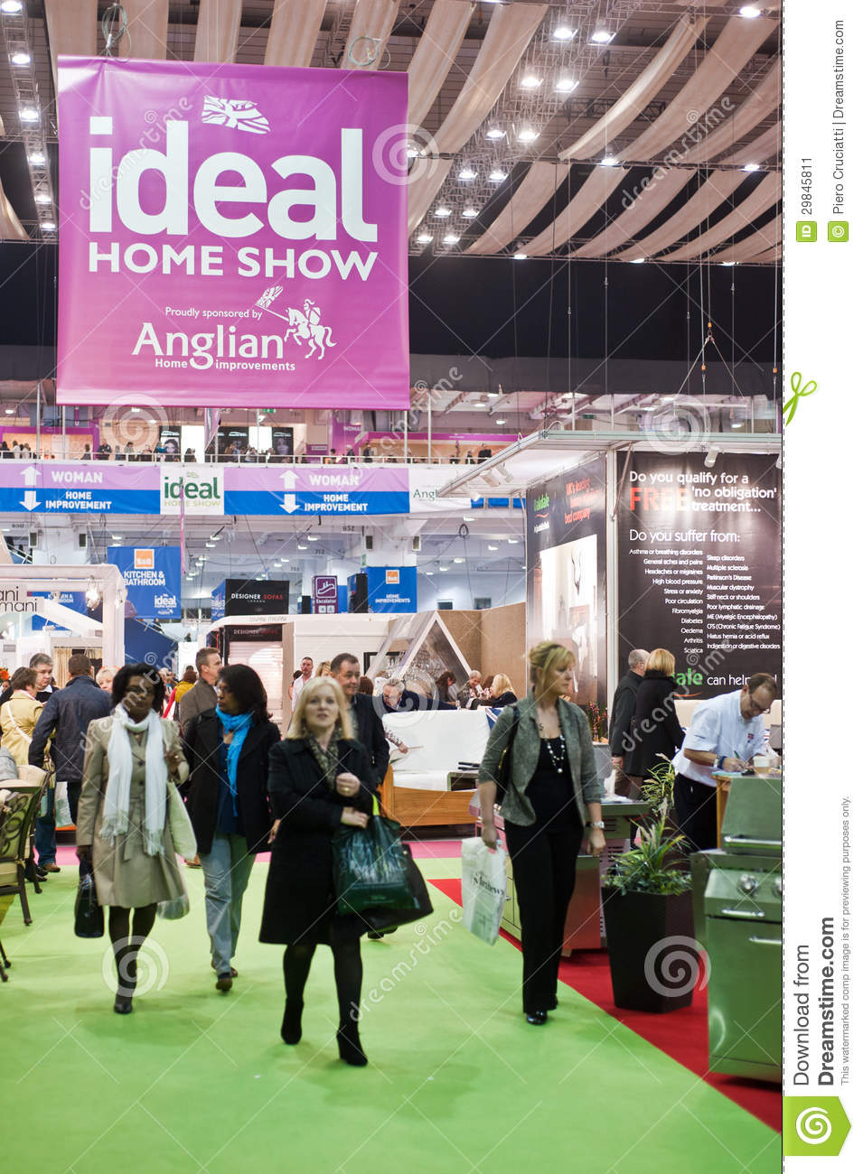 ask information solar panels ideal home show exhibition