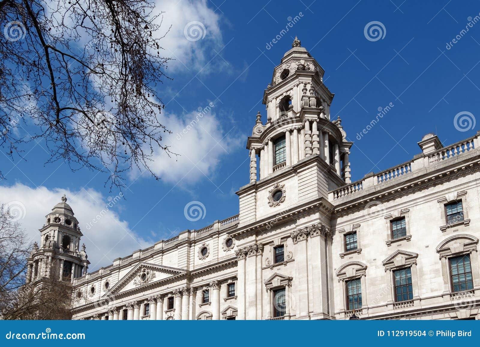 LONDON/UK - 21 MARS : Vue du bâtiment de trésor à Londres o