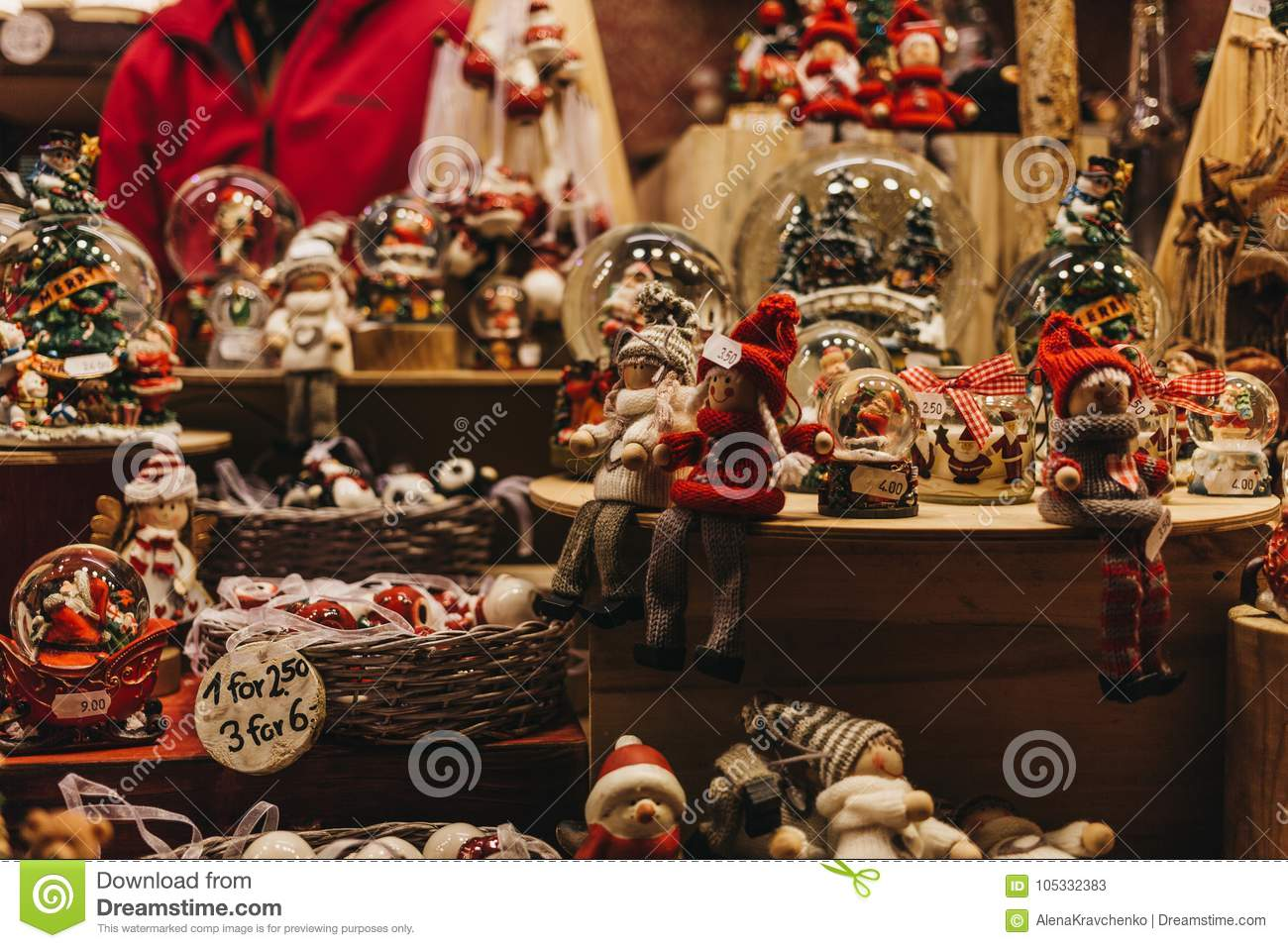 download christmas and christmas tree decorations on sale at a stall in winter wonderland annual - Christmas Tree Decorations Sale