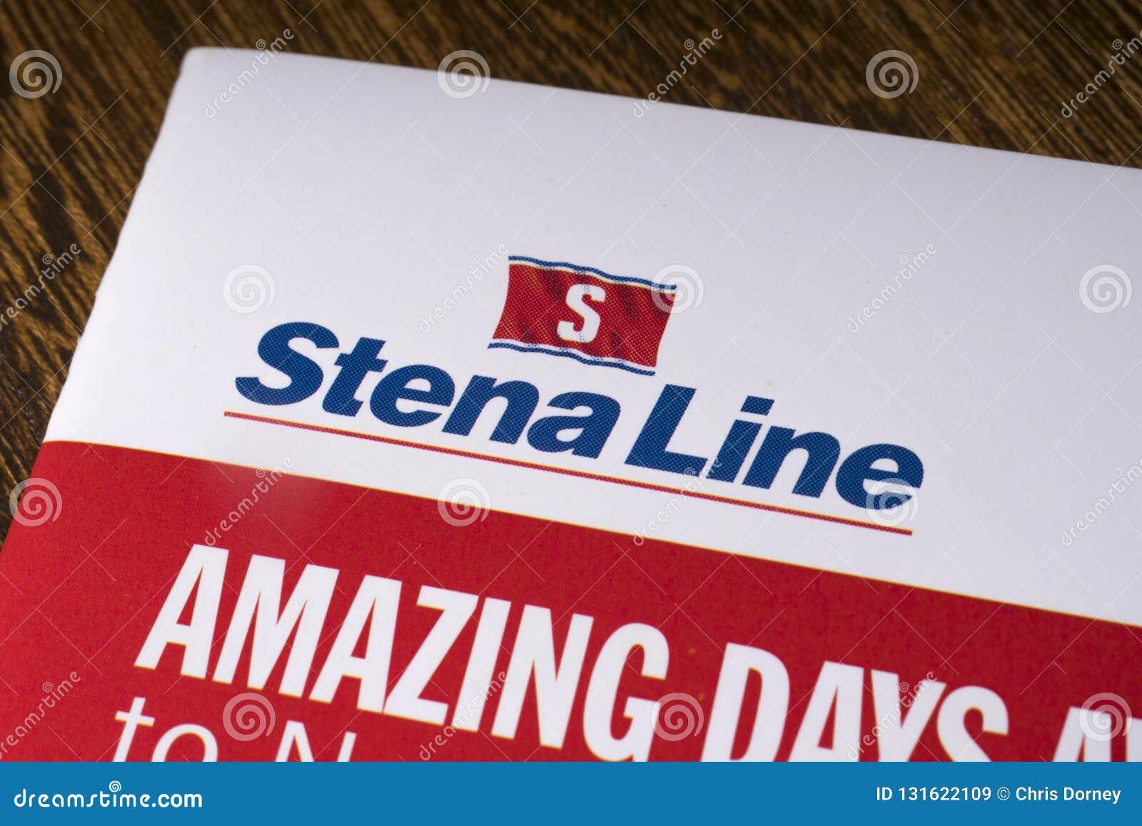 Stena Line Logo editorial stock image  Image of emblem