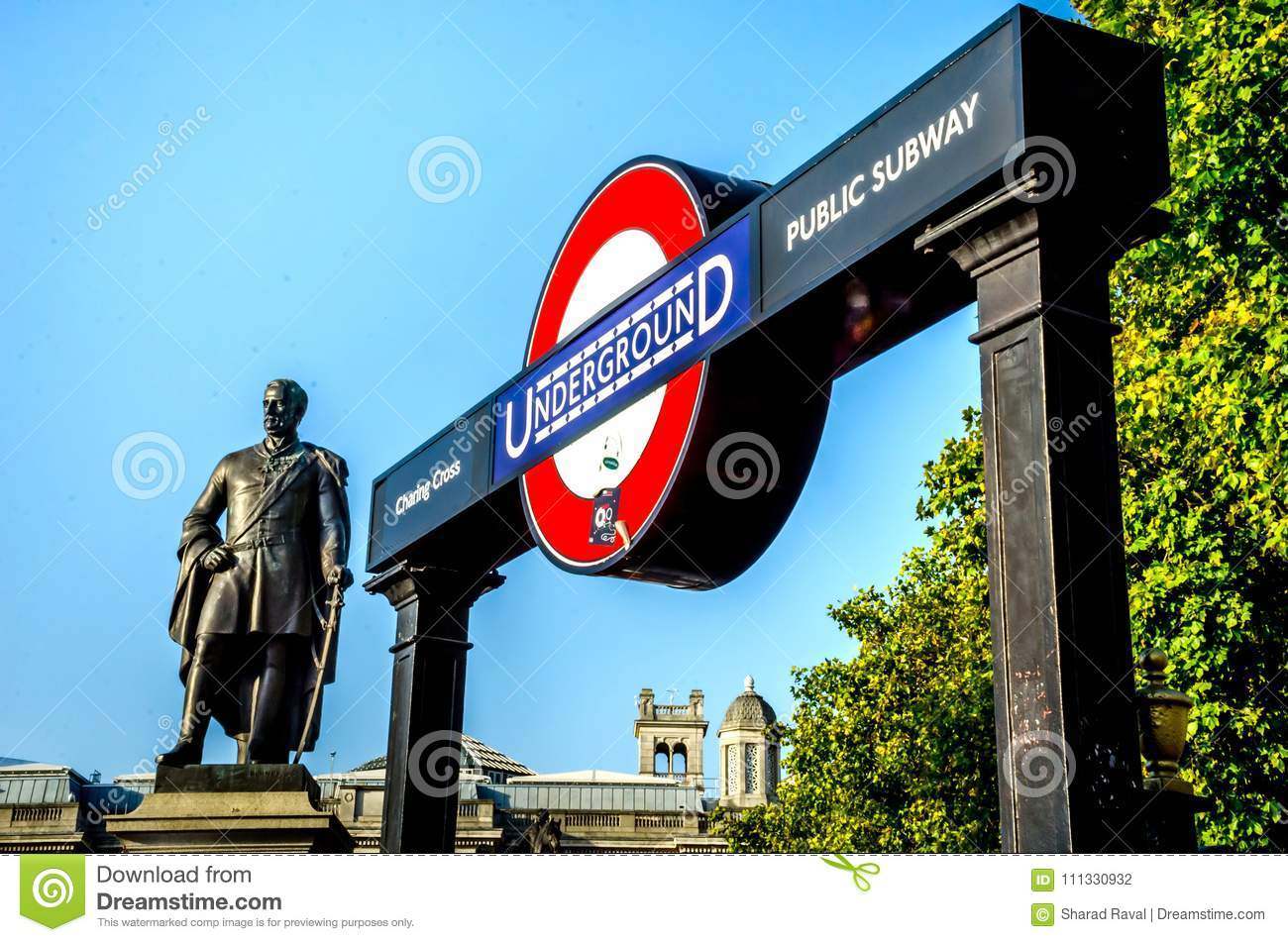 Statue Of Major General Sir Henry Havelock Kcb Editorial