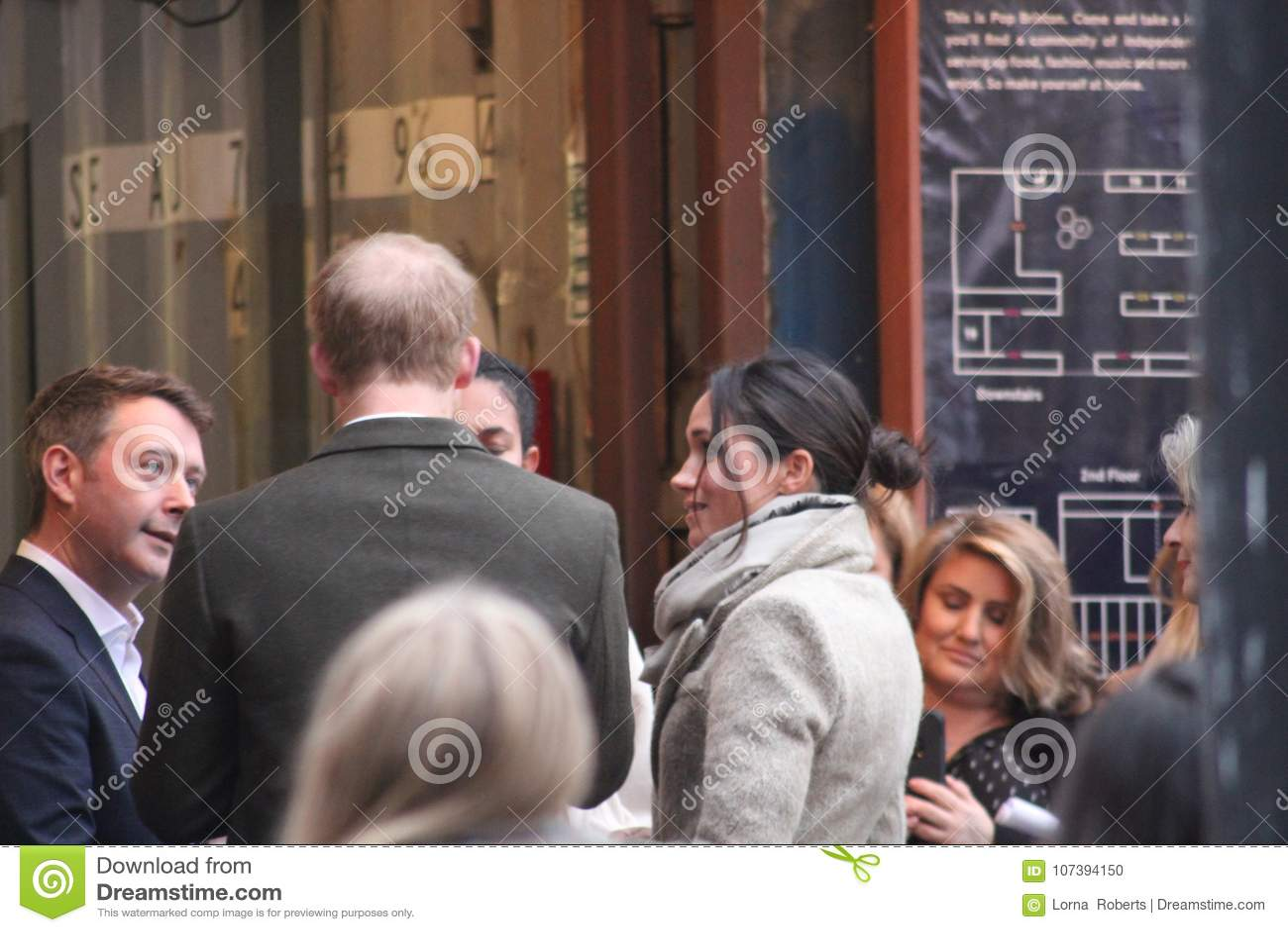 Prince Harry And Meghan Markle Visit Reprezent Radio At POP Brixton