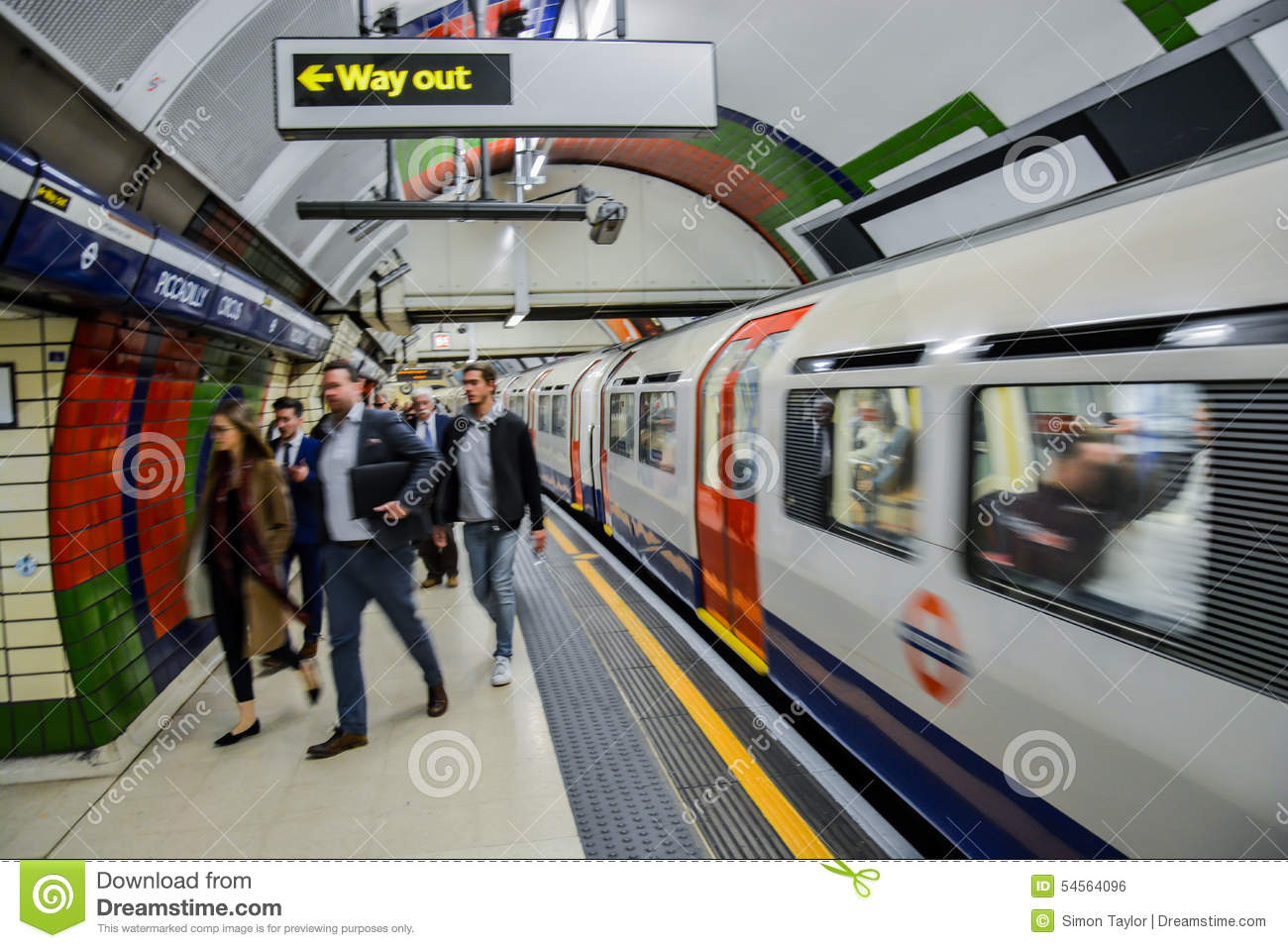 The Tube To Get To Work