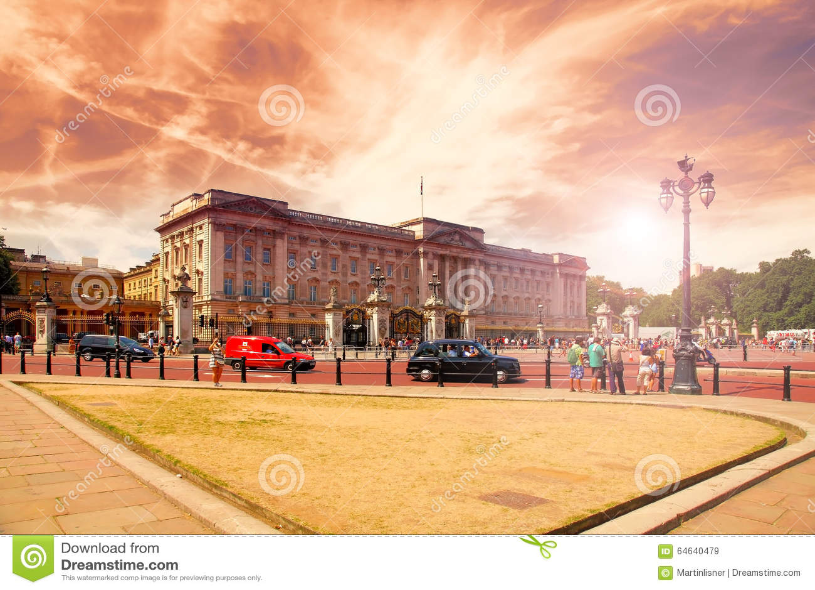 Buckingham Palace ...