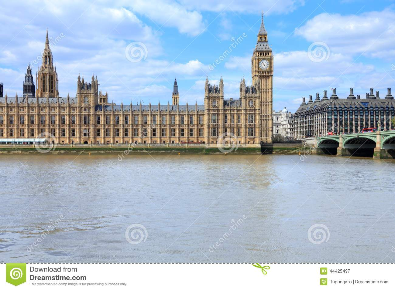 London stock photo image 44425497 for Parliament site