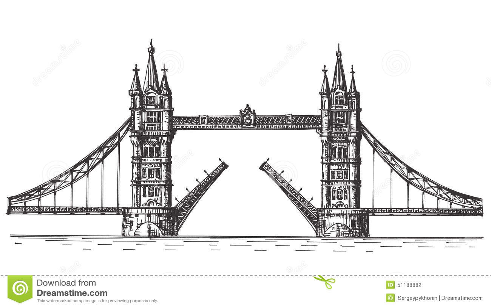 London vector logo design template england or stock for Design bridge london
