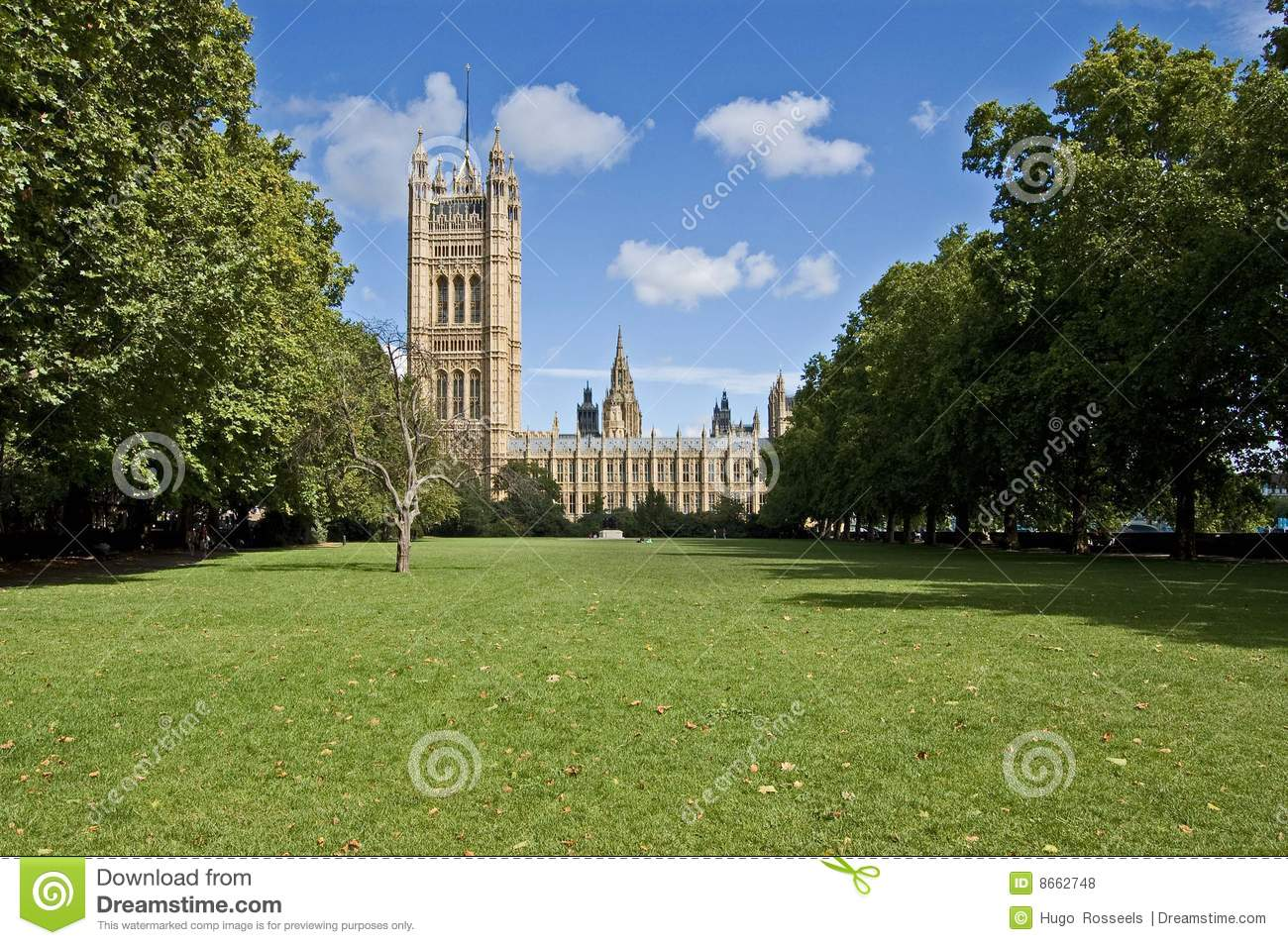 London Victoria Gardens Stock Photo Image Of Lawn London