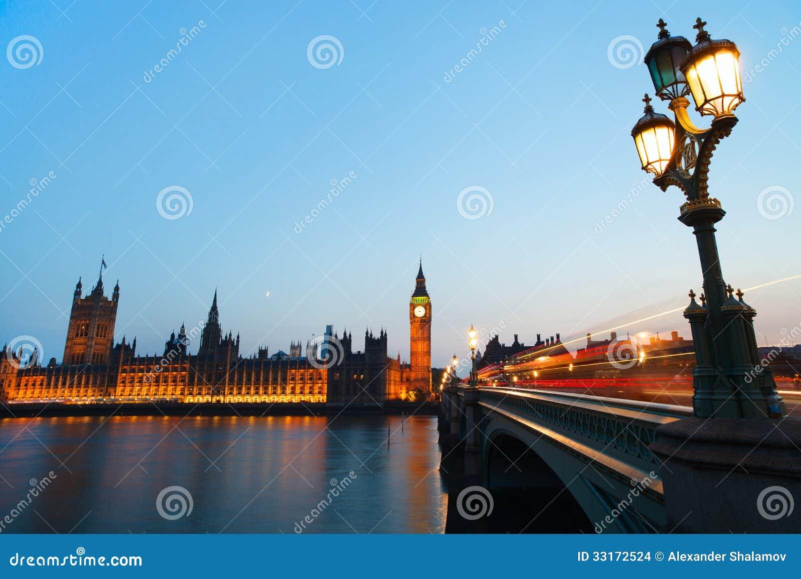 Londra alla notte