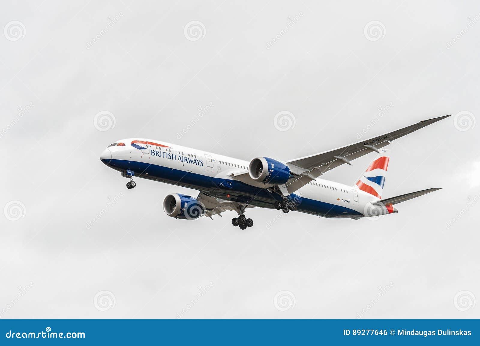 Londra inghilterra agosto atterraggio di g zbkh