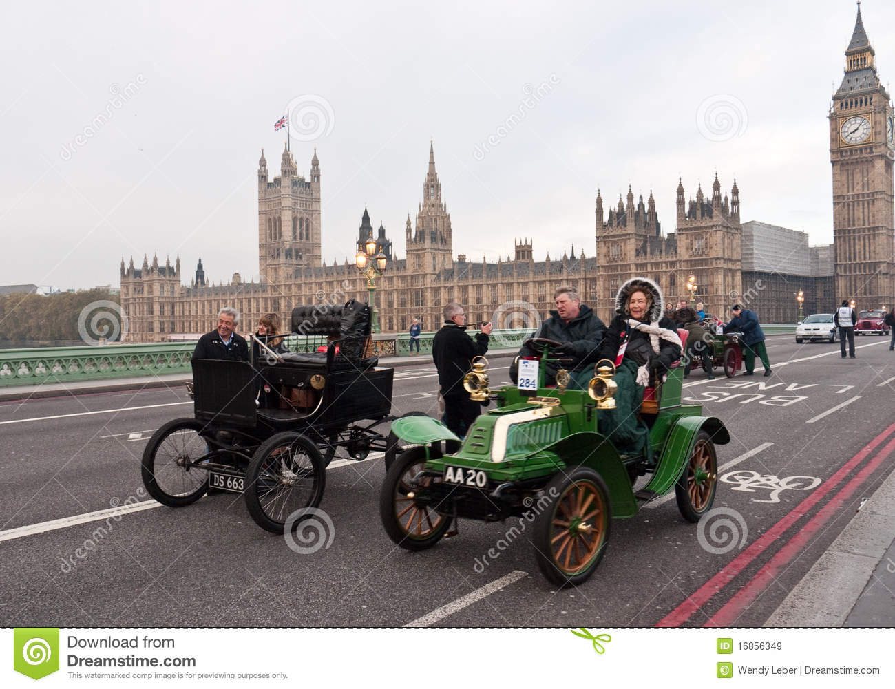 Londres ao funcionamento do carro de Brigghton