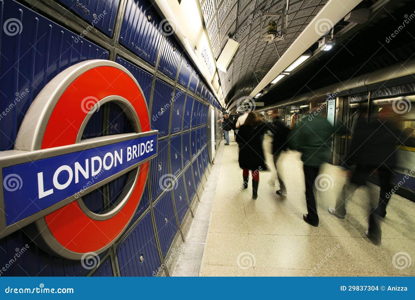 Vista interna de Londres subterrânea