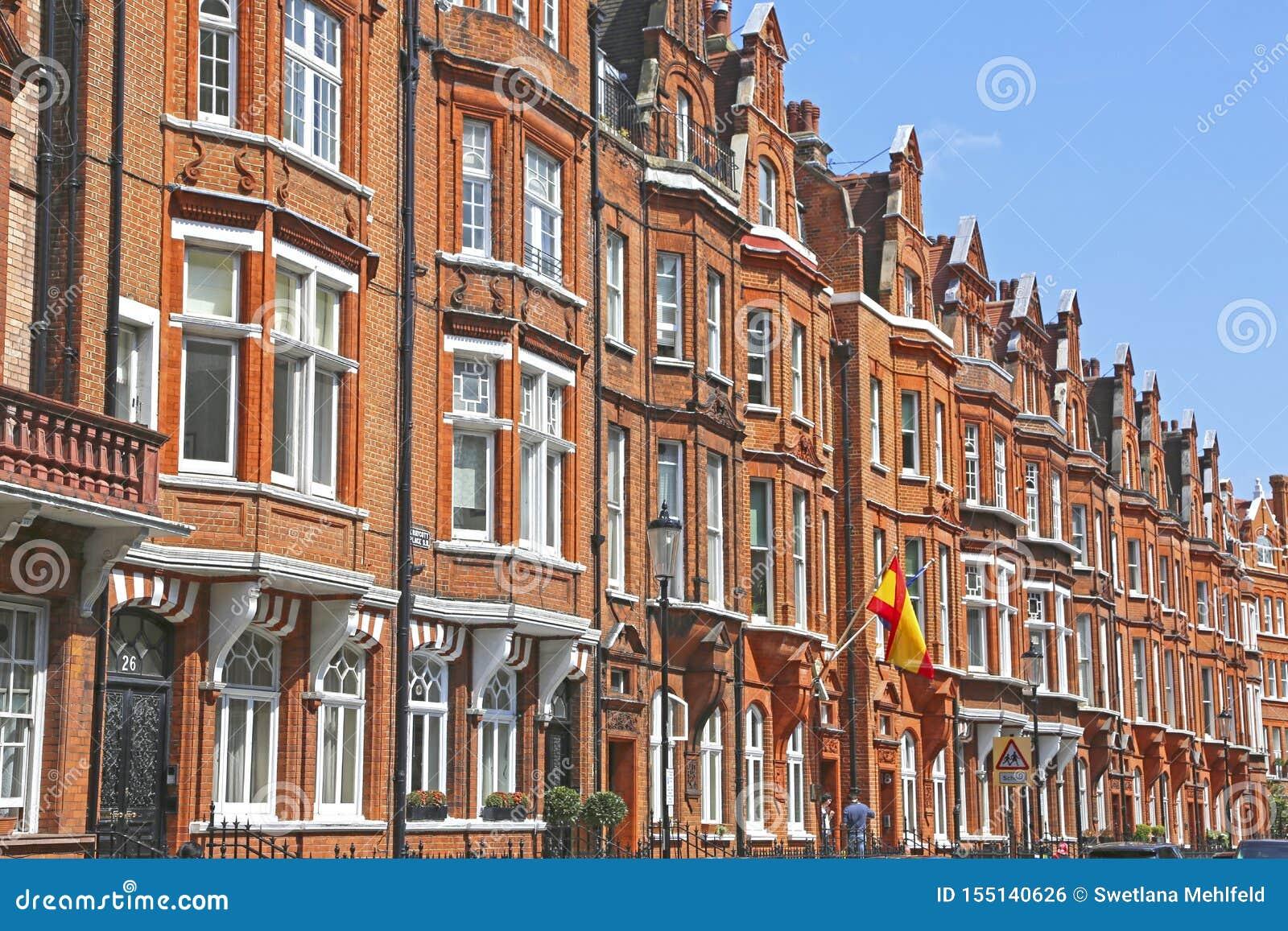 Londres, Gran Bretaña - 26 de mayo de 2016: Consulado español